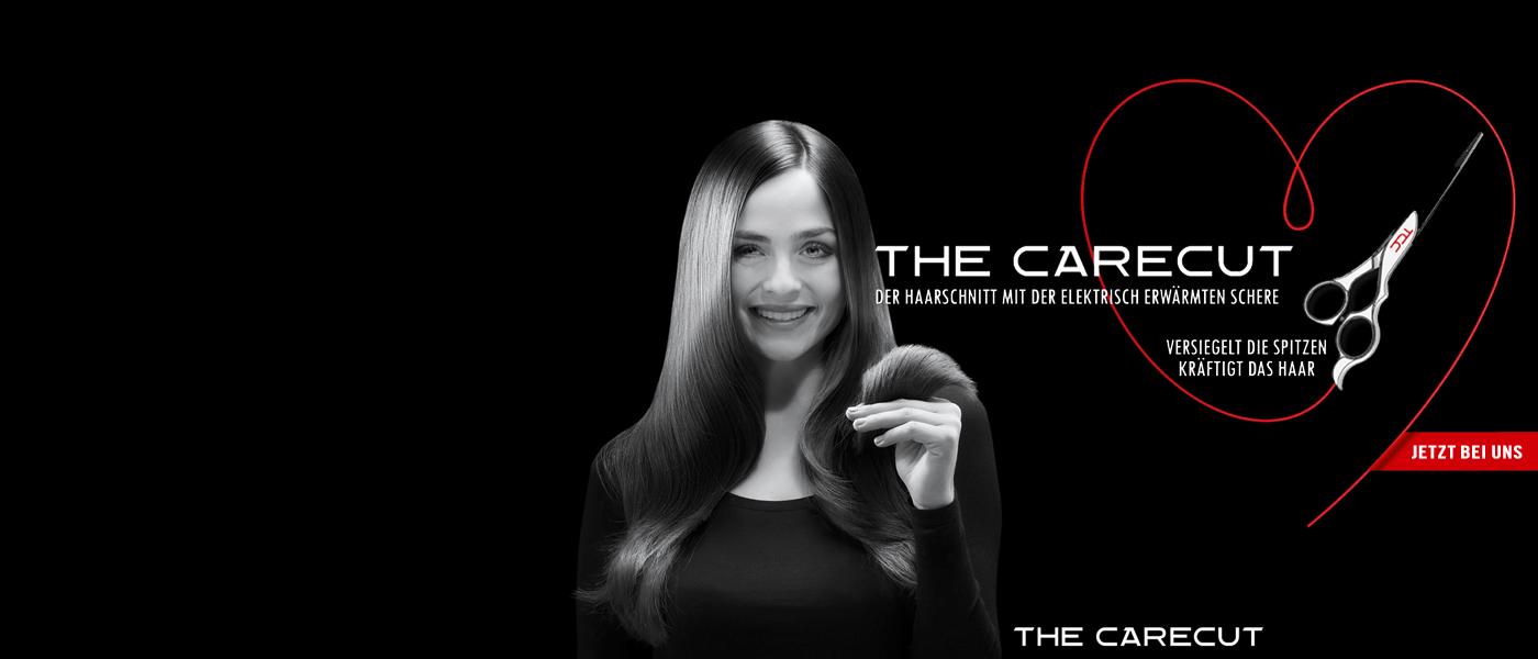 CARECUT - Versiegelt die Spitzen & kräftigt das Haar